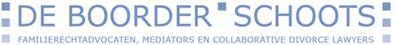 Logo Een vriendelijker manier van scheiden - De Boorder Schoots